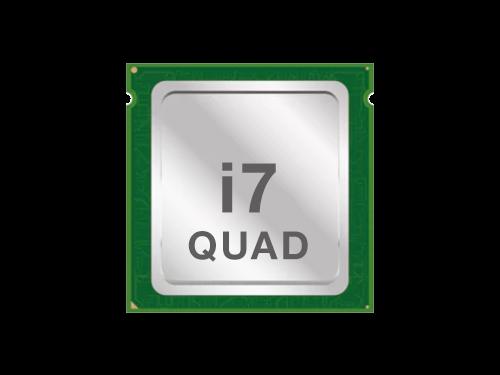 Intel i7 Quadcore