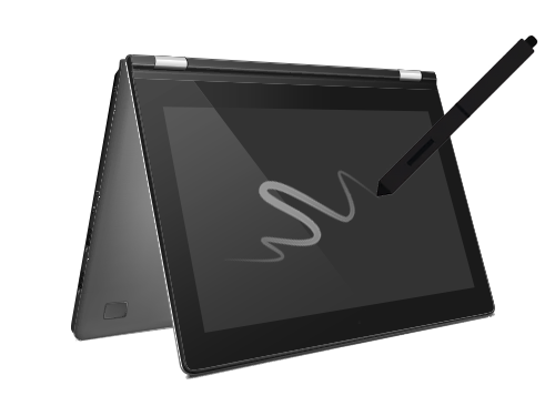 2 in 1 Notebooks mit Touchscreen und Stift